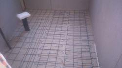 Instalación cables electrico el Baño