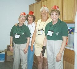 Dixieland Region ran the hospitality room
