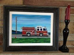 Fire Engine #4 Saint John, 10X8 SOLD