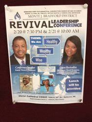 District Revival Conference