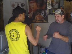 Training with Felix Macias Jr.