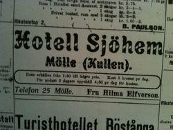 Hotell Sjohem 1915