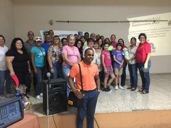 Grupo de ciudadanos participantes