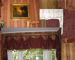 Upper hall  window treatments