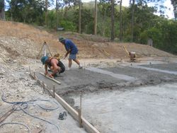 Our Shed Slab