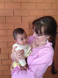 Johanna with Bim