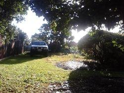 Round About Garden Before