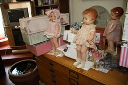 """New"" dolls being unpacked"