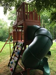 hilltop swing set assembly service in arnold Maryland