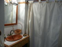 Badezimmer des unteren Schlafzimmers
