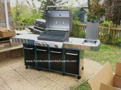 weber grill assembly service in Washington DC MD VA