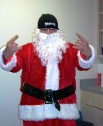 Santa Claus supports Severance