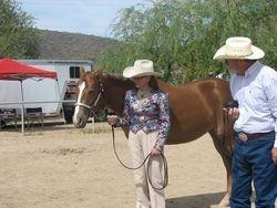 Choklit Rose Delite-Grand Champion mare-Loralea and Dan Daniel