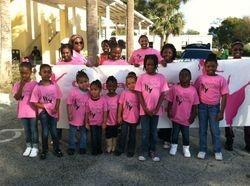 North Lauderdale & Lauderdale Lakes dancers waiting for parade to begin.