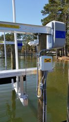 Boat lift panel box