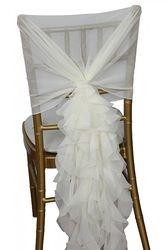 Ruffle Chair Hoods