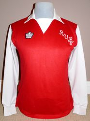 Rotheram United Match Worn 1977 Admiral Football Shirt
