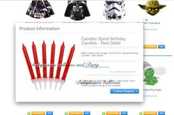 Star Wars Balloons, Party & Accessories