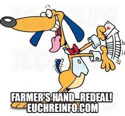 Farmer's hand...redeal!
