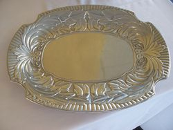 Oval Pewter Serving Dish