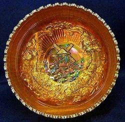 Windmill deep round bowl in marigold