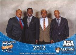 UFTFAA at UF ABA Reunion 2012.  50 Years Celebration.  Honoring Pioneers