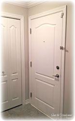 Main door, installation & accessories