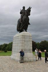 Bannockburn - Robert the Bruce statue