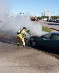Car Fire, 10-17-17