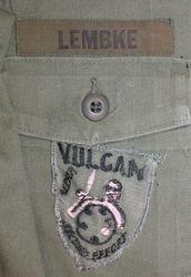 2nd Infantry-Vulcan Crewman: