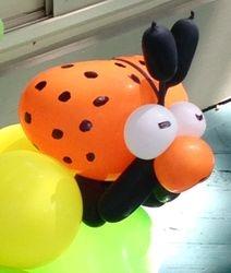 Ladybug Balloon Sculpture
