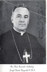 Archbishop Joseph Fitzgerald