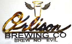 Customized Brewing Company Sign