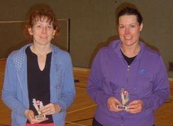 Handicap Tournament Ladies Doubles Runners Up