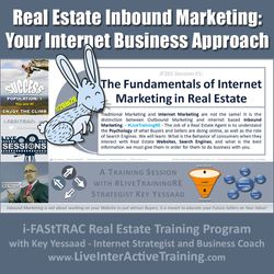 Real Estate Inbound Marketing and Your Internet Business Approach - iF201-01 Feb 2020 - #LiveTrainingRE