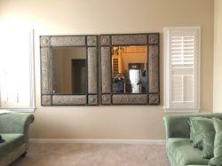 Put up mirrors