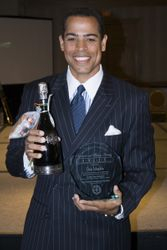 Award recipient Chris Schauble
