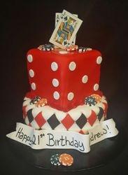 21 Vegas Cake