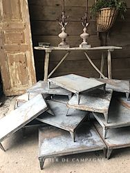 #29/286 METAL THEA TABLES