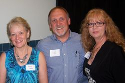 Karla and Jeff Taber and Vicki Schultz