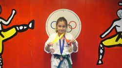 04/03/2011 Championship Crystal Palacios 1st place forms 2nd place breaking 3rd place fighting