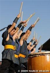 Taiko Drummers at Santa Anita