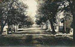 The Dirt Street in Marklesburg