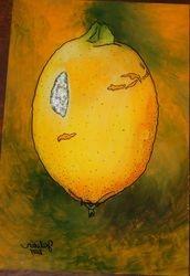 Reverse Art: Lemon