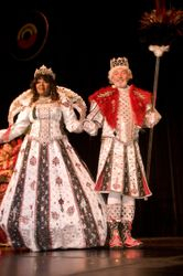 Visiting Royalty - King and Queen Krewe of Illusions