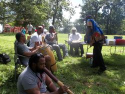 Baltimore's Historic Park Vibe Drummers