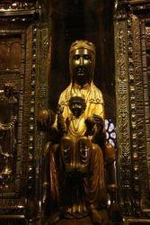 Black Madonna Montserrat Monastery