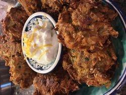 Crispy Artichoke Fritters