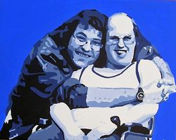 LITTLE BRITAIN'S LOU & ANDY