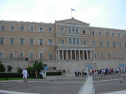 Greece's Parliament Building